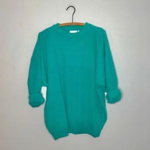 Vintage Retro 90's Chunky Knit Oversized Sweater